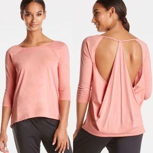 Fabletics Neema Blossom Pink Top